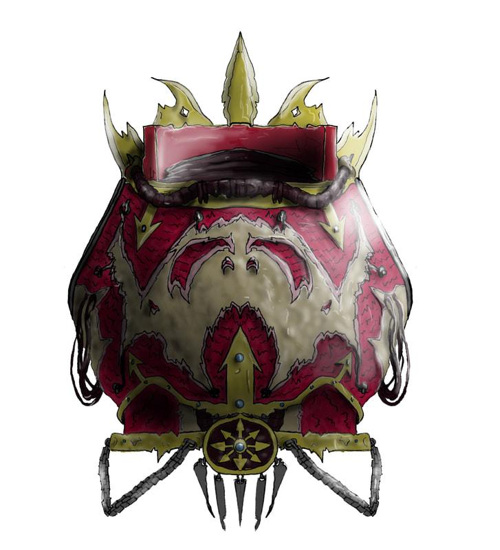 Heretic Cursed Armor Warhammer 40 000 Eternal Crusade Fan